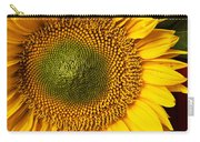 Sunflower With Old Key Carry-all Pouch