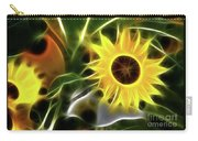 Sunflowers-4929-fractal Carry-all Pouch