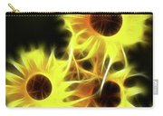 Sunflowers-4955-fractal Carry-all Pouch