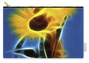 Sunflowers-4969-fractal Carry-all Pouch