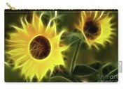 Sunflowers-5052-fractal Carry-all Pouch