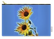 Sunflowers-5246-fractal Carry-all Pouch