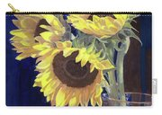 Sunflowers And Light Carry-all Pouch