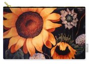 Sunflowers And More Sunflowers Carry-all Pouch