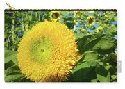 Sunflowers Art Prints Sun Flower Giclee Prints Baslee Troutman Carry-all Pouch