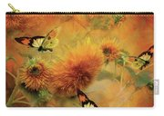 Sunflowers Carry-all Pouch by Carol Cavalaris
