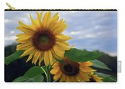 Sunflowers Close Up Carry-all Pouch