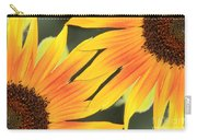 Sunflowers Corners Carry-all Pouch