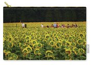Sunflowers Everywhere Carry-all Pouch
