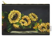 Sunflowers From The Garden Carry-all Pouch