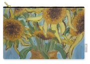 Sunflowers II. Carry-all Pouch