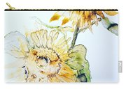 Sunflowers II Carry-all Pouch by Monique Faella