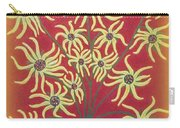 Sunflowers In A Blue Vase Carry-all Pouch
