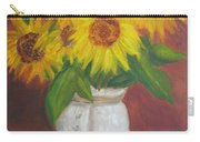 Sunflowers In A Clay Pot Carry-all Pouch