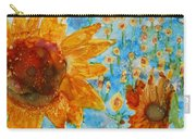 Sunflowers In Fields Carry-all Pouch
