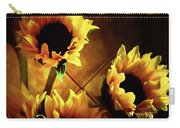 Sunflowers In Shadow Carry-all Pouch