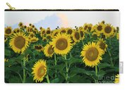Sunflowers In The Clouds Carry-all Pouch