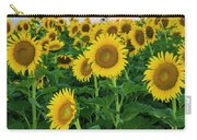 Sunflowers In The Sky Carry-all Pouch