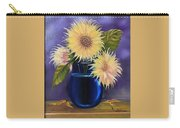 Sunflowers In Vase Carry-all Pouch