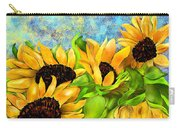 Sunflowers On Holiday Carry-all Pouch
