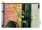Sunflowers On Stoop Carry-all Pouch
