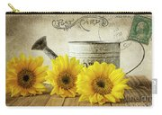 Sunflowers Postcard Carry-all Pouch