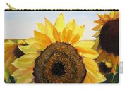 Sunflowers Squared Carry-all Pouch