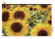 Sunflowers Summer Van Gogh Carry-all Pouch