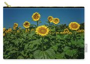 Sunflowers Weldon Spring Mo Ver1_dsc9821_16 Carry-all Pouch