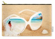 Sunglasses In The Sand Carry-all Pouch