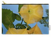 Sunglow Angel Trumpet Carry-all Pouch