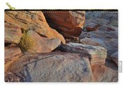 Sunlight Fades Out On Valley Of Fire Carry-all Pouch