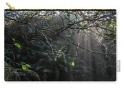 Sunlight Falling Into Glen With Bright Leaves, Vertical Carry-all Pouch
