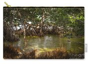 Sunlight In Mangrove Forest Carry-all Pouch