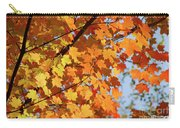 Sunlight In Maple Tree Carry-all Pouch
