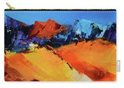 Sunlight In The Valley Carry-all Pouch
