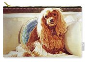 Sunlight On Cavalier King Charles Carry-all Pouch