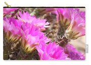 Sunlight On Pink Cactus Blooms Carry-all Pouch