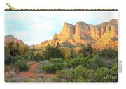 Sunlight On Sedona Rocks Carry-all Pouch