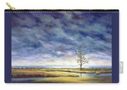 Sunlight On The Marshes 18x24 Carry-all Pouch