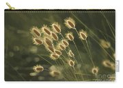 Sunlight On Wild Grasses Carry-all Pouch