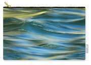 Sunlight Over The River Carry-all Pouch by Donna Blackhall