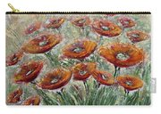 Sunlight Poppies Carry-all Pouch