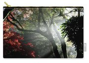 Sunlight Through The Tree In Misty Morning 1. Carry-all Pouch