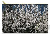 Sunlit Apricot Blossoms Carry-all Pouch