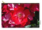 Sunlit Blooms Of Dortmund Hybrid Scots Briar Rose Carry-all Pouch
