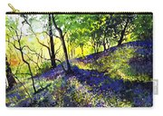 Sunlit Bluebell Wood Carry-all Pouch