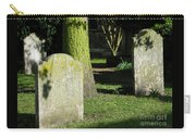 Sunlit Churchyard Carry-all Pouch