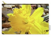 Sunlit Daffodil Flower Spring Rock Garden Baslee Troutman Carry-all Pouch