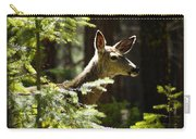 Sunlit Deer Friend Carry-all Pouch